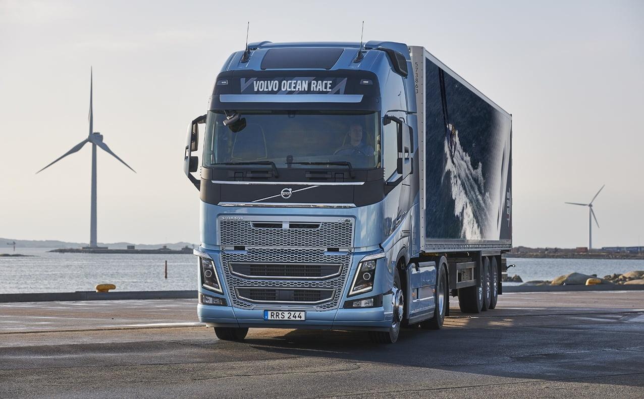Volvo FH i FH16 w unikatowym wydaniu - Volvo Ocean Race ...