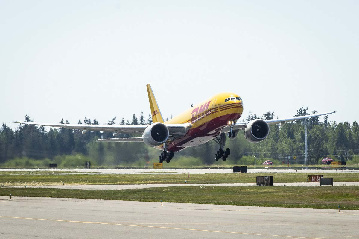 Boeing 777 Freighter DHL