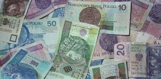 praca, banknoty, pieniądze, pln
