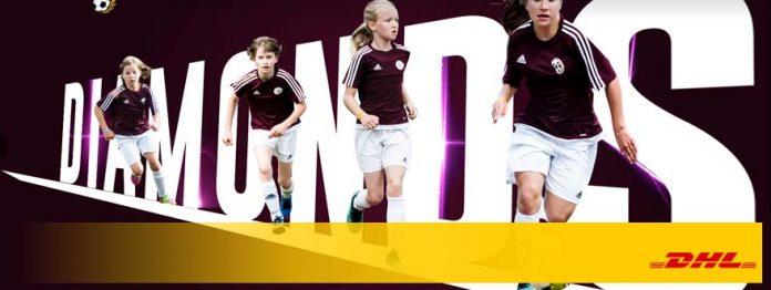 Młode piłkarki z Akademii Piłkarskiej – Diamonds Academy – ze wsparciem DHL Supply Chain!