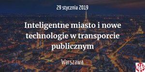 Inteligentne miasto i nowe technologie w transporcie publicznym